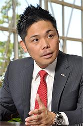 株式会社トリビュート代表の田中稔眞